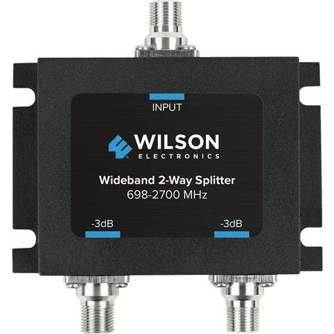 Wilson electronics 850034 wideband 2-way splitter with f-female connector