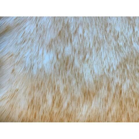 Ovella Home Premium Faux Sheepskin Plush Shag Area Rug