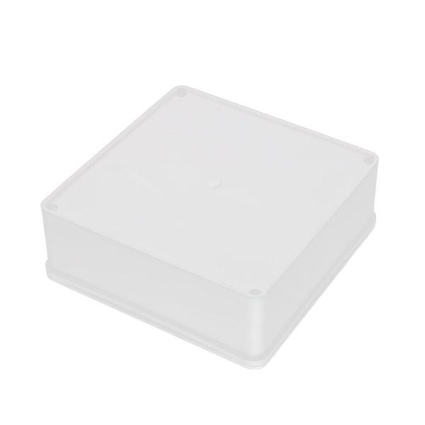 146mm x 146mm x 53mm Rectangular PVC DIY Junction Box Case Fire Resistance