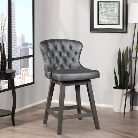 Hillsdale Furniture Rosabella Wood Swivel Stool