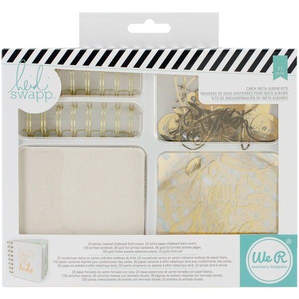 Heidi Swapp Cinch Insta Album Kit-Makes 2
