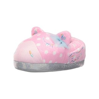 Trimfit Girls Magical Pony Novelty Slippers Polka Dot Casual (2 options available)