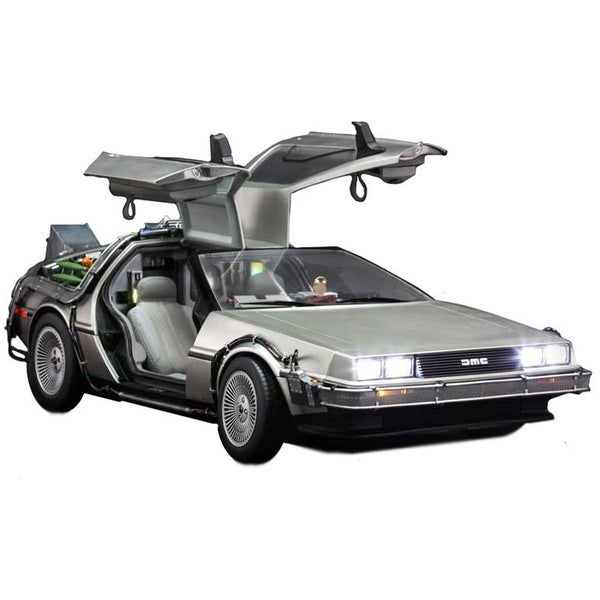 Back To The Future Hot Toys 1:6th Scale DeLorean Collectible Vehicle - Multi