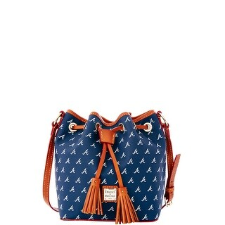 Dooney & Bourke MLB Braves Kendall Crossbody (Introduced by Dooney & Bourke at $228 in Oct 2015) - Navy