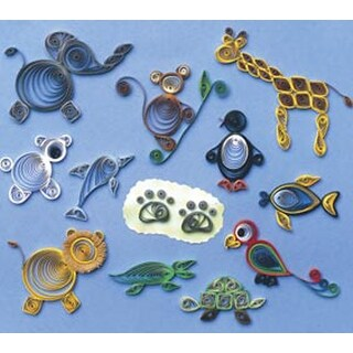 Zoo Animals - Quilling Kit
