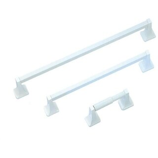 Mintcraft PBC001-WH 5 Piece White Bath Assortment