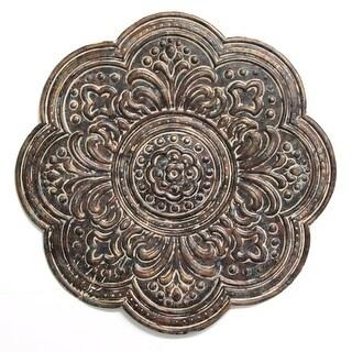 Rustic Bronze Medallion Wall Decor