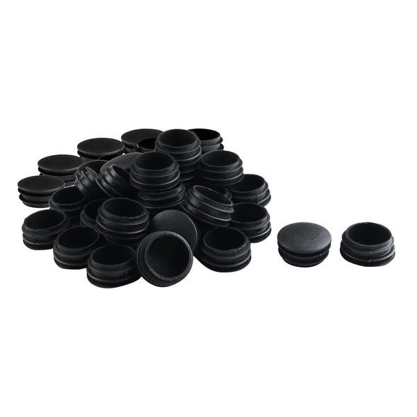 """1 1/2"""" 38mm OD Plastic Round Tube Insert Protector 50pcs, 1.38""""-1.46"""" Inner Dia"""