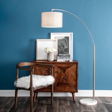 """nuLOOM Belton 69"""" Marble Floor Lamp"""