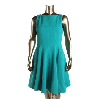 B Michael Womens Textured Sleeveless Wear to Work Dress - 12