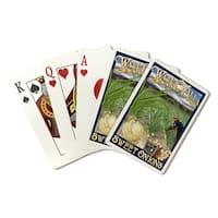 Walla Walla, Washington - Sweet Onions - LP Art (Poker Playing Cards Deck)