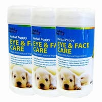 Alpha Dog Series - Eye & Face Care Wipes 50ct (Pack of 3)