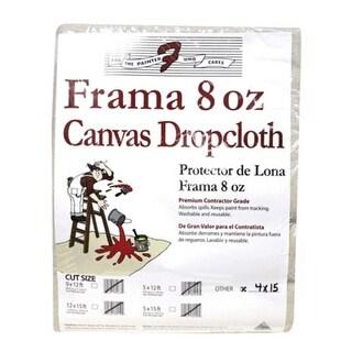 Trimaco 8014 Frama Drop Cloth Runner 4' x 15', 8 Oz