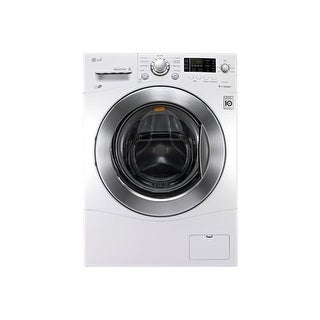 LG WM1377H 2.3 Cu. Ft. 24 Inch Wide Compact Front Load Washer with 6Motion Techn