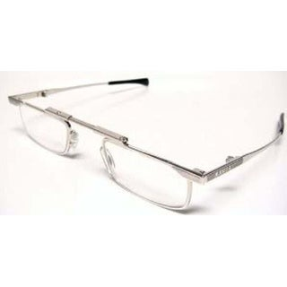 Kanda Slimfold Model 1 Silver Titanium Temples 1.25 Folding Reading Glasses