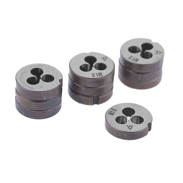 3mm Thickness 1 45mm Thread Pitch M1 6 Round Threaded Die x 10