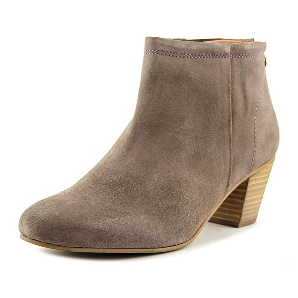 Seychelles Clash Women Round Toe Leather Tan Bootie