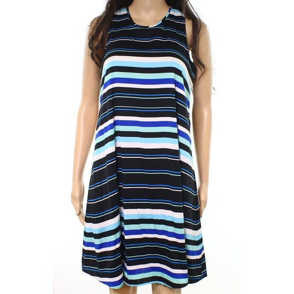 c438f94e5e85 Shop Tommy Hilfiger Womens Striped Colorblock Shift Dress - Free Shipping  On Orders Over  45 - Overstock - 21467492
