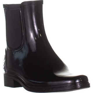 DKNY Womens marsha Rubber Closed Toe Mid-Calf Cold Weather Boots
