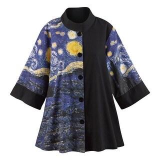Women's Starry Night Swing Fashion Jacket
