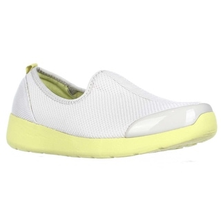 Easy Spirit Funrunner Sport Flats - Light Gray Yellow