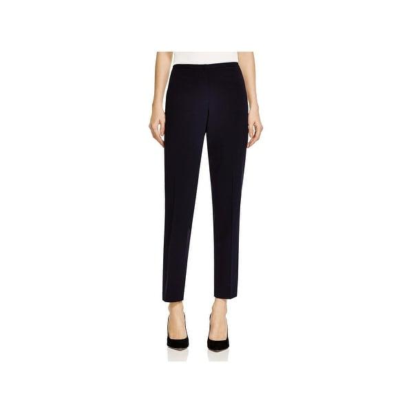 T Tahari Womens Dessa Dress Pants Stretch Solid