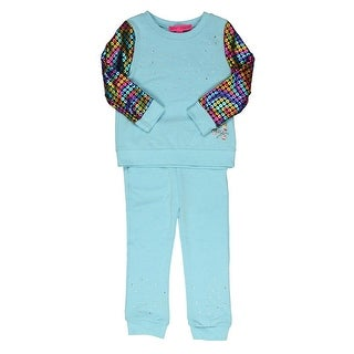 Betsey Johnson Pant Outfit Toddler Girls Metallic - 3t