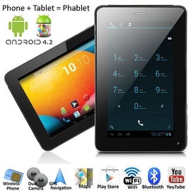 Indigi® 7.0inch Dual-Core 2-in-1 SmartPhone + TabletPC w/ Android 4.2 JellyBean Dual-Cameras WiFi Bluetooth