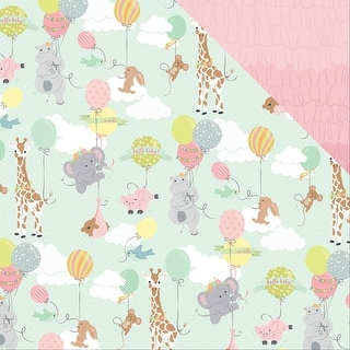 """About A Little Girl Double-Sided Cardstock 12""""X12""""-Bundle Of Joy"""