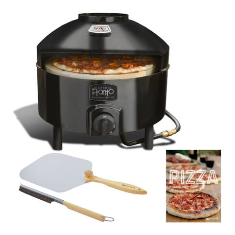 Pizzacraft Pizzeria Pronto Outdoor Pizza Oven with Accessory Bundle