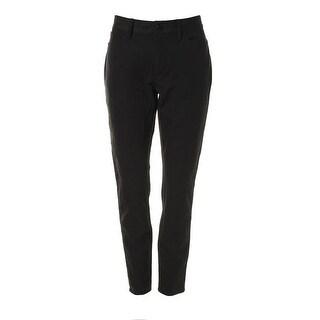 DKNYC Womens Solid Five-Pocket Skinny Pants - 2