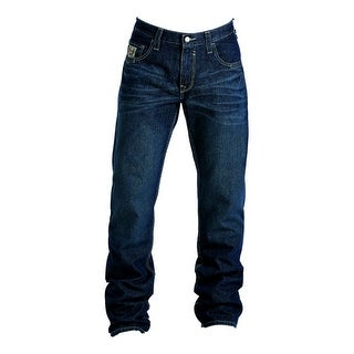 Cinch Work Denim Jeans Mens FR Carter WRX Relaxed Med Wash