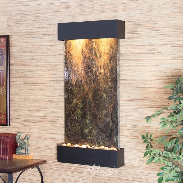 Adagio Whispering Creek Fountain with Textured Black Finish - Multiple Colors Available