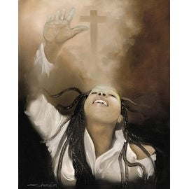 ''Spiritual Awakening (mini)'' by Edwin Lester Religious Art Print (10 x 8 in.)
