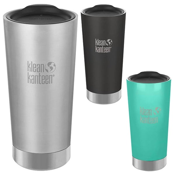 4724580582e Klean Kanteen 20 oz. Insulated Stainless Steel Tumbler with Lid - 20 oz.
