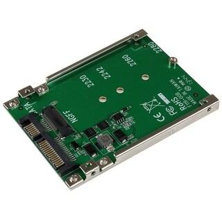 Startech - Sat32m225 M.2 Ssd To 2.5In Sata Adapternngff Ssd To Sata Converter