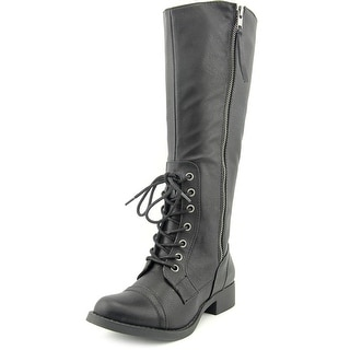Rocket Dog Cabernet Women Round Toe Synthetic Knee High Boot