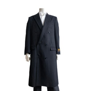Link to Mens Full Length Wool Double Breasted Overcoat Similar Items in Men's Outerwear