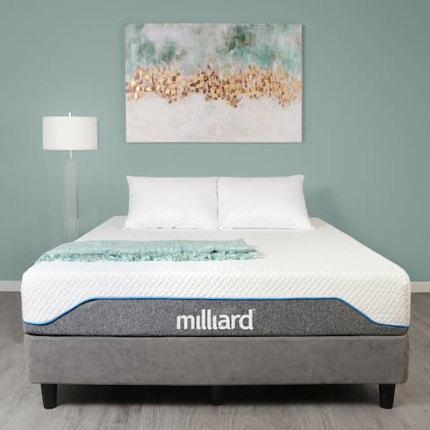 Milliard Medium-firm 10-inch Memory Foam Mattress