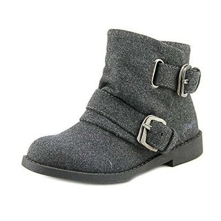 Blowfish Girls Tomer Fabric Ankle Zipper Chelsea Boots