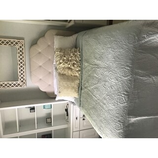 Laura Ashley Silky Satin Quilted Bedspread
