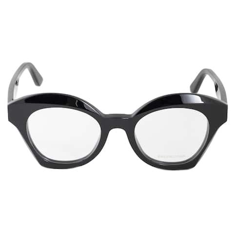 Balenciaga Balenciaga BA 5082 001 49 Oversized Cat Eye Eyeglasses Frames