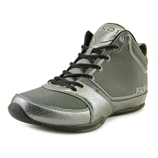 And1 Theme Men Grey/Pewter Basketball Shoes