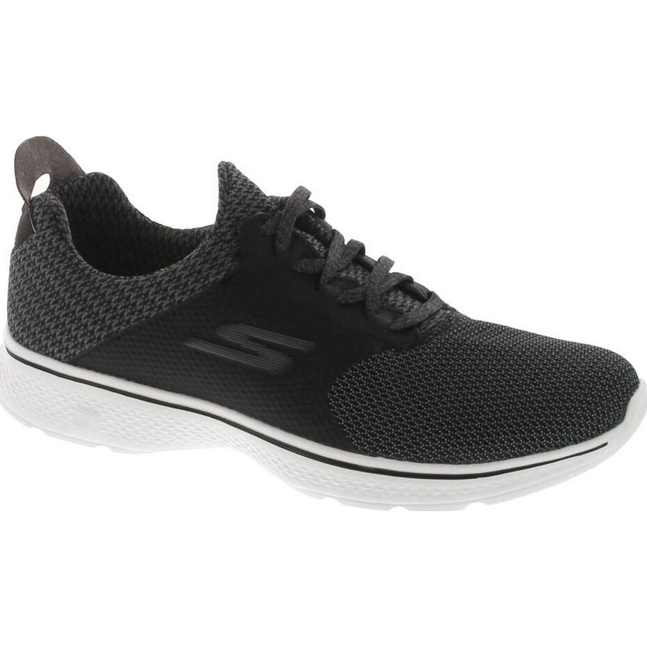 Skechers Mens 54170 Gowalk 4 Instinct Sneaker BlackWhite