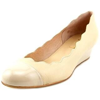 FS/NY Miles Open Toe Synthetic Wedge Heel