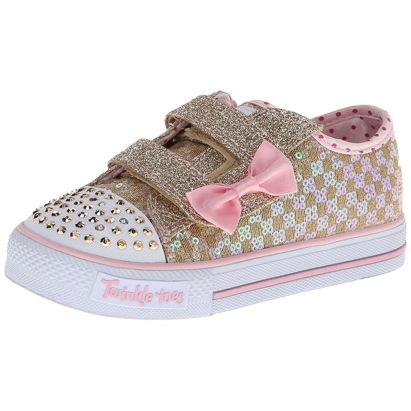 aeb4cca8ee77 Shop Skechers Kids Twinkle Toes Shuffles Sweet Steps Light-Up ...