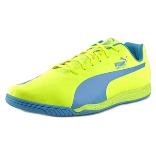 Puma evoSpeed Star IV Men Round Toe Synthetic Yellow Sneakers