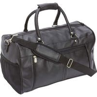8986652162 Shop Goodhope Red-Eye Black Synthetic Leather Carry-on Duffel Bag ...