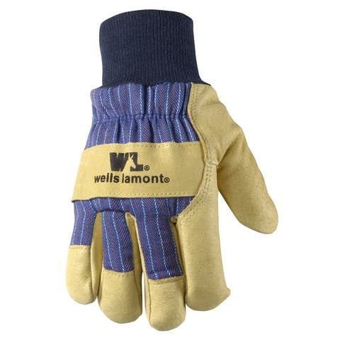 Wells Lamont 5127XL Men's Cold Weather Work Gloves, Extra Large, Palomino Leather