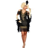 bc4cf01199 Shop Plus Size Swanky Flapper Costume - As Shown - Free Shipping ...